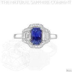 Blue Sapphire Ring - J4331