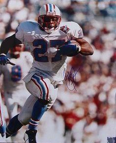 Eddie George Houston Oilers 16x20 Autographed Photograph