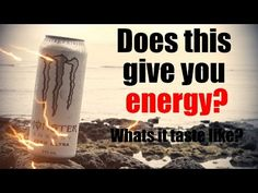 Monster Energy Zero Ultra drink review