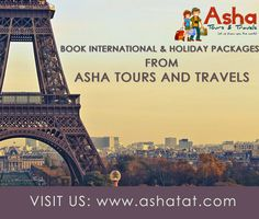 Book International and Holiday Packages from Asha Tours and Travels and get best deals available online. Call us for more details: 09833477689/09920033687 & Email us at info@ashatat.com, sales@ashatat.com. Visit us at: www.ashatat.com #Asha #Tours #Travels #International #Holiday #Packages #World #Travel #Website #Agency #Best #Deals #Online