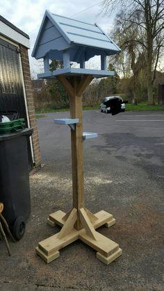 Very Sturdy birdfeeder made by myself