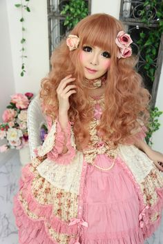 [ • classic lolita - Angelic Pretty - hair & makeup • ] #WinWayneGossTheCollection