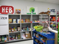 I don't have this area anymore, but wanted to share it. This use to be my HEB… Stocking Shelves, Vocational Tasks, Life Skills Classroom, Work Task, Developmental Disabilities, Task Boxes, Special Needs, Asd, Speech Therapy