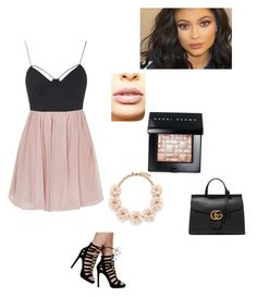 """""""Untitled #110"""" by averyvalclaunch on Polyvore featuring Topshop, LASplash, Bobbi Brown Cosmetics, J.Crew, Gucci, women's clothing, women's fashion, women, female and woman"""