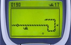Playing Snake on a green-screened Nokia phone. | 25 Things That Were Totally Normal In 1999