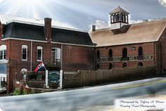 Glen Rock Mill Inn - historic building houses a restaurant and bar.....patio seating too!