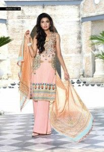Wardha Saleem  Newest Eid Dresses Collection 2015 (16)