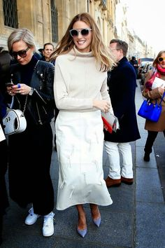 The Olivia Palermo Lookbook : Olivia Palermo at Paris Fashion Week