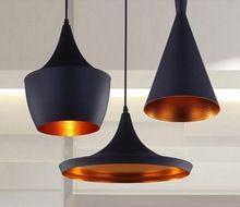 Дизайн том диксон подвеска лампа удар свет том диксон медь тень люстра огни, abc ( высокий, жира и широкий угол ) 3 шт./упак.(China (Mainland))