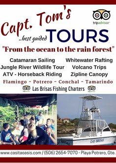 Capt. Tom's Tours, Playa Potrero, Costa Rica