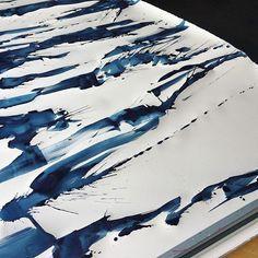 "51"" x 7' #watercolor @shanafrase #shanafrase by shana frase"
