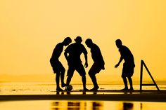 Sunset soccer in Brazil. #Sports #photography