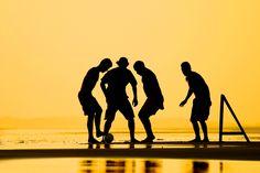 Sunset soccer in Brazil. #Sports #photography