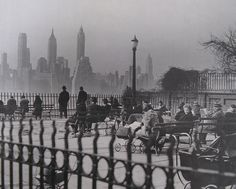 Brooklyn Heights Promenade 1950's `