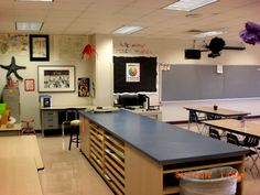 Pin by ali taylor on classroom ideas класс Classroom Design, Classroom Organization, Classroom Decor, Classroom Furniture, Inspiration Wall, Art School, School Stuff, High School, Elementary Art