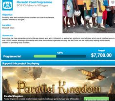 SOS Children and Parallel Kingdon campaign