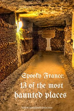 The French love a good ghost story, from royal headless ghosts and underground cemeteries to the home of a serial killer. These are 13 of the most haunted places in France to visit this Halloween Abandoned Castles, Abandoned Mansions, Abandoned Houses, Abandoned Places, Haunted Houses, Scary Halloween Decorations, Halloween Witches, Halloween Quotes, Halloween Halloween
