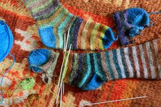 knit new toes for old socks