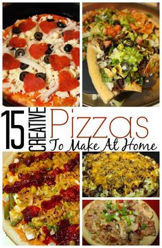 15 Creative Pizzas to Make at Home #NationalPizzaDay