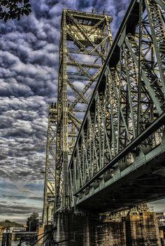 de hefbrug Rotten, Pedestrian Bridge, Paradise On Earth, World Cities, George Washington Bridge, Most Beautiful Cities, New City, City Streets, Sydney Harbour Bridge