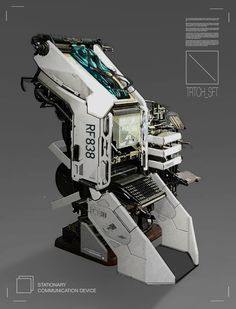 ArtStation - Comms Unit 01, Branford Meentzen