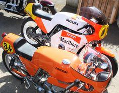 Laverda 750 SFC Replica & Meunon/Suzuki 1100 www.moto-officina.com