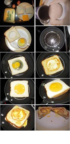 Quick and Easy Breakfast.