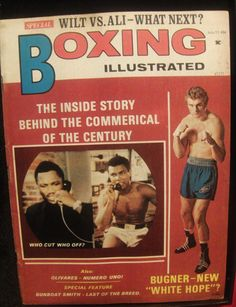 VINTAGE BOXING MAGAZINES ONLY $3.00