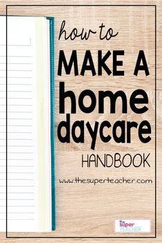 A daycare handbook is so important to protect your business!  Your parent handbook lets your clients know what to expect.  This post goes into detail about what all to include in your handbook!  Read more here.