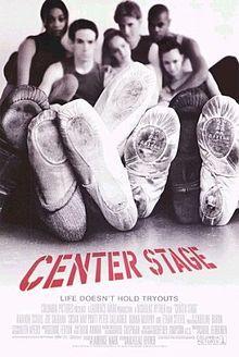 Center Stage. A ballet/dance/teen movie. Epic.