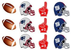 FREE Football Printables from 9 to 5 Mom for your Super Bowl Party