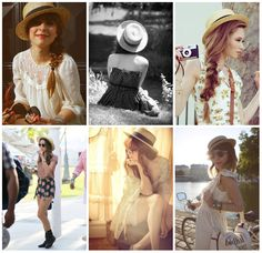 retro – She Wore Ribbon Boater, Outfits With Hats, Pretty Outfits, Ruffle Blouse, Retro, Cute, How To Wear, Image, Style Ideas