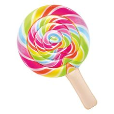 Intex Inflatable Coloured Lollipop buy and offers on Swiminn Pool Gadgets, Mason Jar Clip Art, Piscina Intex, Cool Pool Floats, Candy Images, Giant Food, Air Mattress, Lilo And Stitch, Candyland