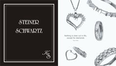 Catalogue Steiner Schwartz Advertising, Graphics, Graphic Design, Diamond, Diamonds, Printmaking, Visual Communication