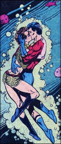 Aqualad and Tula.