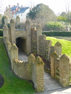 Guildford Castle Grounds, Surrey, England