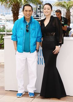 """Gong Li attends the """"Coming Home"""" photocall at the 67th Annual Cannes Film Festival on May 20, 2014 in Cannes, France."""