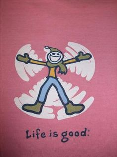 LIFE IS GOOD T-SHIRT - WOMENS CAMPING LOUNGE L/S PINK LADIES TOP SIZE XL - $33