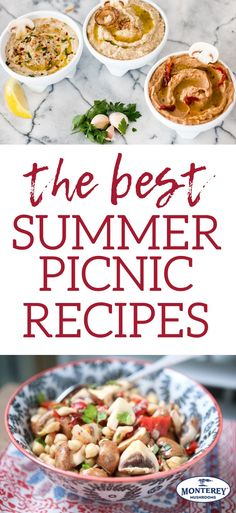 The Ultimate Picnic Smorgasbord, Featuring. You Guessed It. Plan a smorgasboard of delicious meals for your al fresco dining! These summer picnic recipes are perfect to enjoy outdoors with friends and family. Delicious Meals, Healthy Dinner Recipes, Yummy Food, Simple Recipes, Snack Recipes, Family Picnic Foods, Best Mushroom Recipe, Mushroom Recipes, Mushroom Side Dishes