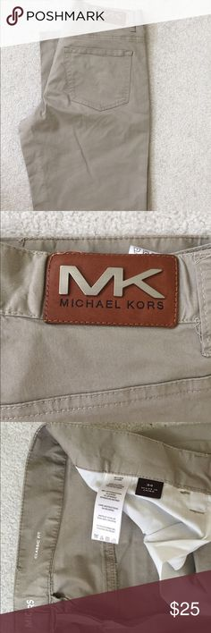 🎉Host Pick🎉 NWOT Michael Kors Men's pants Khaki/tan classic fit. Never worn, just tried on at home. Was given as gift. 🎉Host Pick🎉 Best in Men's Style 11/9/16 Michael Kors Pants