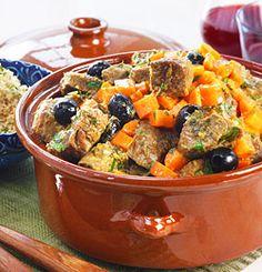 Oksegryte på marokkansk vis i tagine