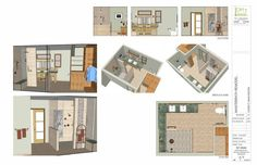 Design Intent Drawings 3D sheet for custom designed master bathroom in Everett
