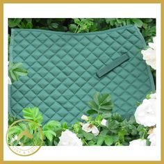 Celtic Equine Green Saddle Pad - Kola-Beanz is a Lightweight and Breathable pad with Form retaining due to 15mm of foam and 120g polyfill. An excellent hardwearing and value pad.