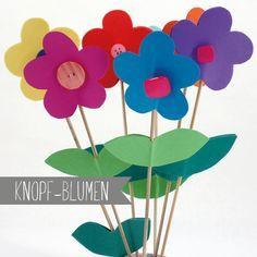 Moosgummi Knopfblumen - (Bastelrezept als PDF) First Grade Crafts, Bed Cover Design, Good Environment, Creative Thinking, Linen Bedding, Kindergarten, Crafts For Kids, Amazing, Life Hacks