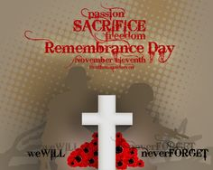 Remembrance Day-Sacrafice