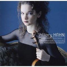 Hilary Hahn - Mendelssohn, Shostakovich : Violin Concertos #ViolinConcerto #Violin #Gifted