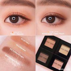 Asian Makeup, Korean Makeup, Beauty Makeup, Hair Makeup, Korean Products, Eye Make Up, Face And Body, Latte, Eyeshadow