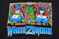 Vintage WHITE ZOMBIE T Shirt 90's Tour Concert 1993 Devil Music Alt Grunge Metal #Gem #BasicTee