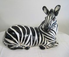 http://www.liveauctioneers.com/item/10688952_clay-zebra-pottery