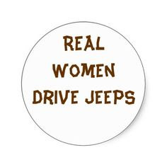Real Women Drive JEEPS!